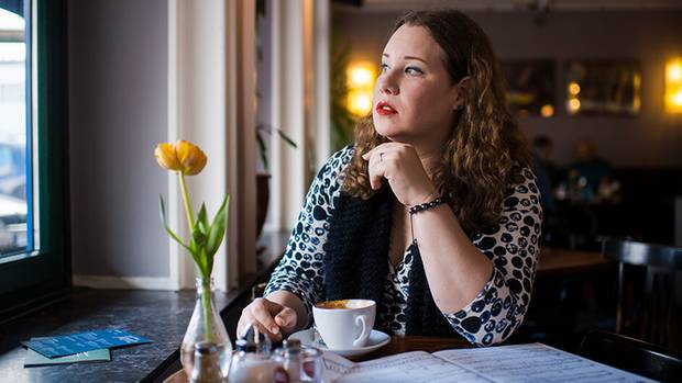 """Heute, nach ihrer """"Geschlechterreise"""", fühlt sich Lucia Lucas endlich in sich zu Hause:"""
