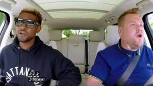 Usher zu Gast bei James Corden in Carpool Karaoke