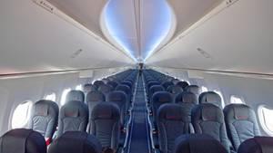 Darum sind Flugzeugsitze meistens blau
