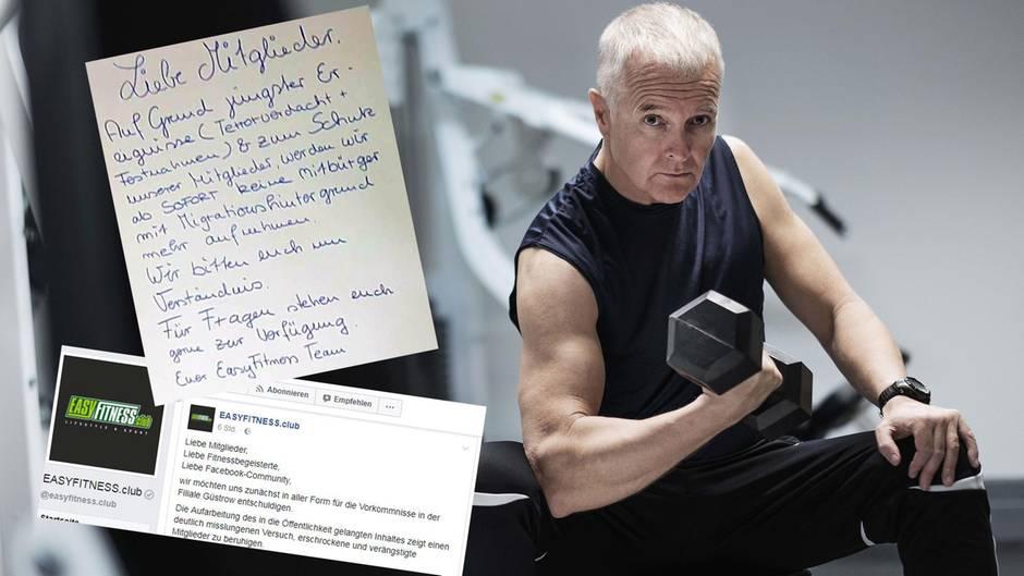 """Das Güstrower """"EasyFitness""""-Fitnessstudio erntete nach einem Aushang Kritik und ruderte zurück (Symbolbild)"""