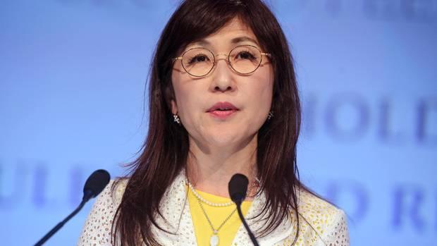 Tomomi Inada, Japans Verteidigungsministerin, tritt zurück