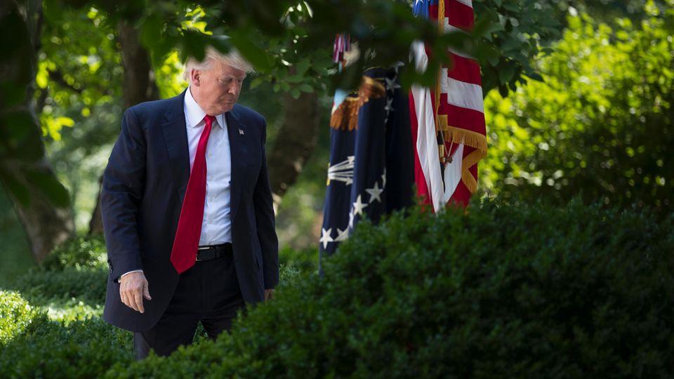Donald Trump: Reform der Krankenversicherung scheitert auf allen Ebenen.
