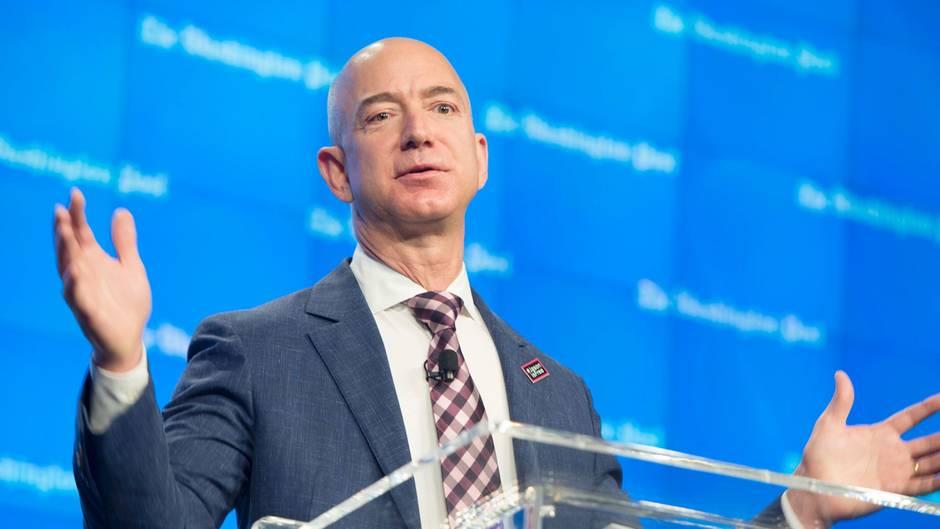 Amazon-Chef Jeff Bezos dürfte sich beim Blick auf seinen Kontostand sehr freuen