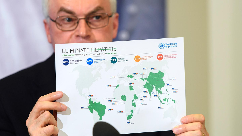 Marc Bulterys, Leiter des Hepatitis-Programms der WHO
