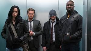 "Jessica Jones, Iron Fist, Daredevil, Luke Cage: Die Superhelden bilden in der neuen Netflix-Serie ""Marvel's The Defenders"" eine Allianz."