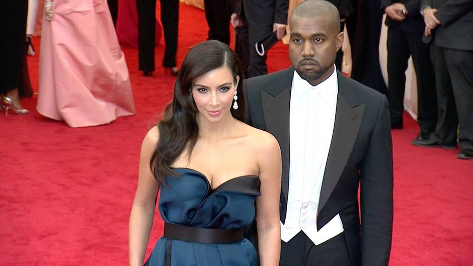 Hollywood-Traumpaar: Kanye West und Kim Kardashian: So fing alles an