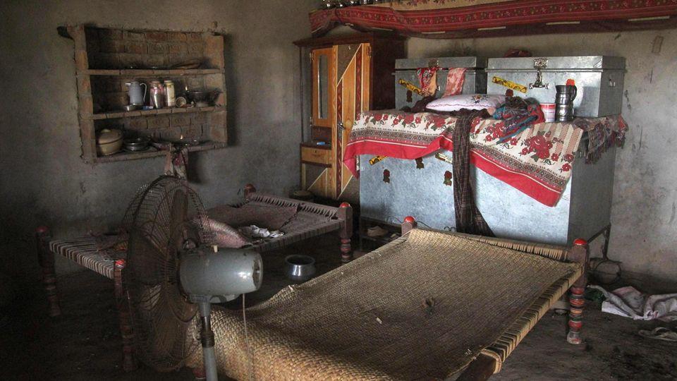 In Pakistan wurde ein Mädchen als Strafe für ihren Bruder vergewaltigt - offenbar in diesem Zimmer