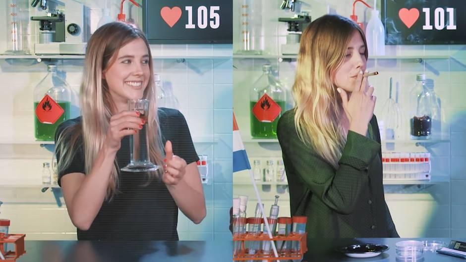 """Youtube-Kanal """"Drugslab"""": Niederländerin testet Drogen vor laufender Kamera"""