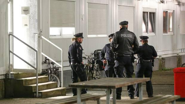 Die Räume der Flüchtlingsunterkunft in Hamburg-Langenhorn wurden nach der Messerattacke von Barmbek durchsucht.