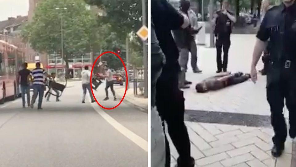 Messerattacke: Das wissen die Behörden über den Täter von Hamburg