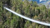 Die Brücke ist 494 Meter lang und bricht damit sämtliche Weltrekorde.