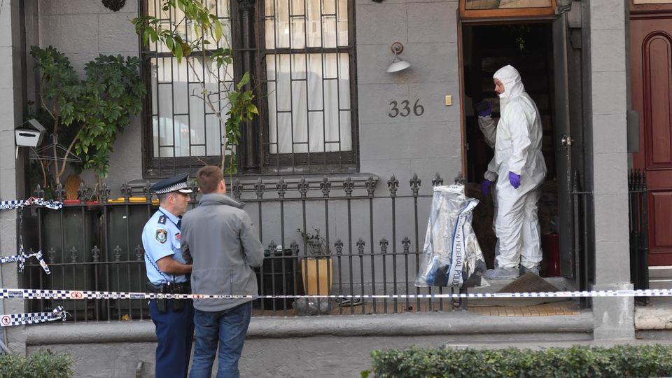 Anti-Terror-Einheit des Bundesstaates New South Wales durchsuchen am Samstagabend Wohnungen in Vororten von Sydney