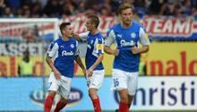 Aufsteiger Holstein Kiel holt im ersten Zweitliga-Spiel seit Jahrzehnten einen ersten Punkt