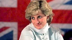 Prinzessin Diana bei einem Besuch in Pakistan, 1992.