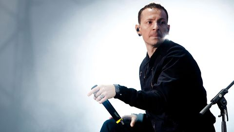 Chester Bennington während eines Konzerts der Band Linkin Park in Norwegen