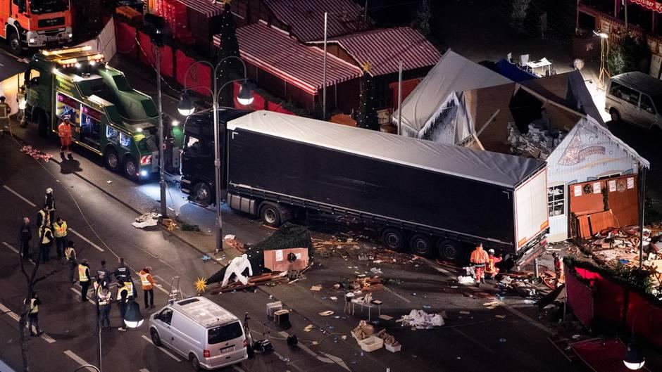 Terrorismus auf dem Berliner Weihnachtsmarkt: Auch Attentäter Anis Amri war als Gefährder eingestuft (Archivbild)