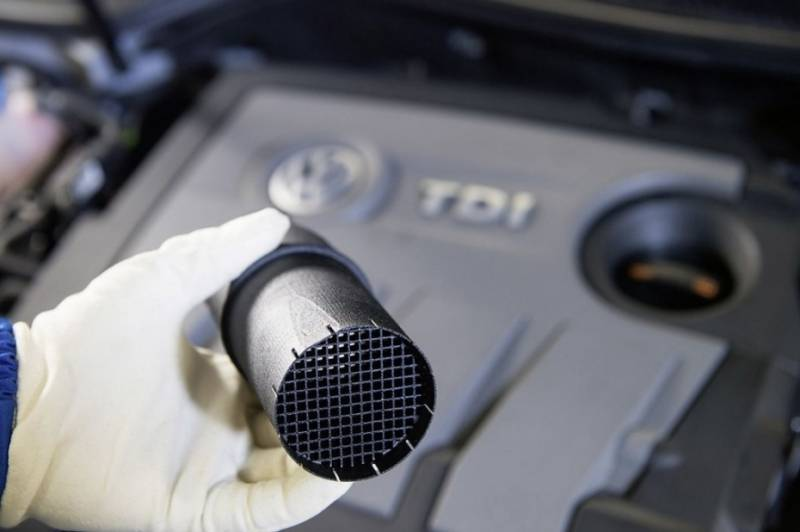 1.6 TDI Motor (EA189) Stömungsgleichrichter