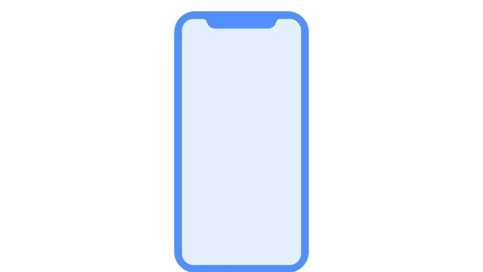 Zeigt diese Grafik die Form des neuen iPhone 8?