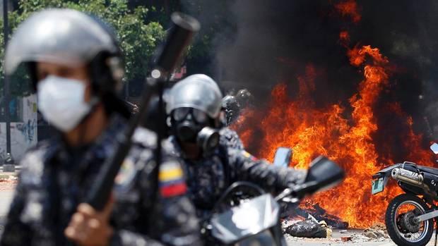 Seit Wochen wird Venezuela von gewalttätigen Protesten erschüttert