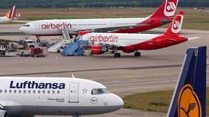 Lufthansa und Air-Berlin