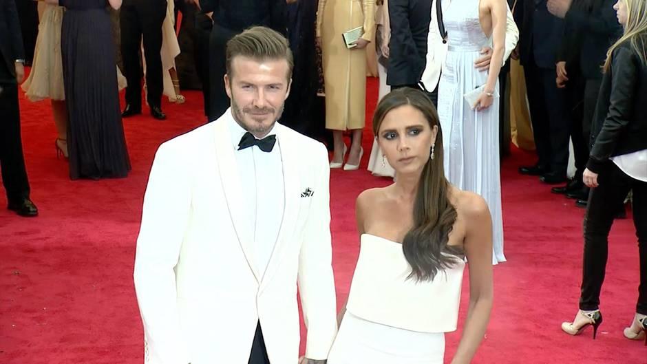 Der Fußballprofi und das Spice-Girl: Victoria und David Beckham: So lernte sich das Traumpaar kennen