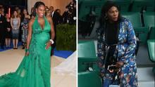 Von lässig bis elegant - Serena Williams' Babybauch-Mode