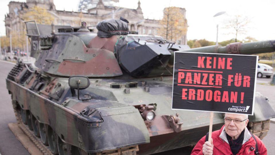 Rheinmetall: stern, Correctiv und Özgürüz über einen dubiosen Waffendeal mit der Türkei