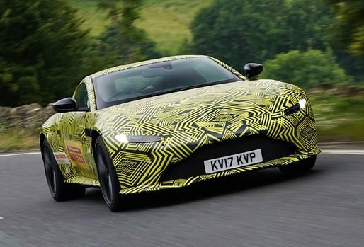 Aston Martin Vantage 2018 - das moderne Aston-Gesicht