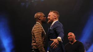 MMA-Kämpfer Conor McGregor kämpft am 27. August gegen die Box-Legende Floyd Mayweather