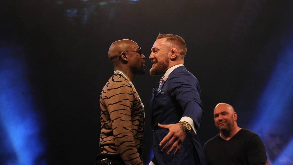 MMA-Kämpfer Conor McGregor kämpft am 27. August gegen die Box-Legende Floyd Mayweather