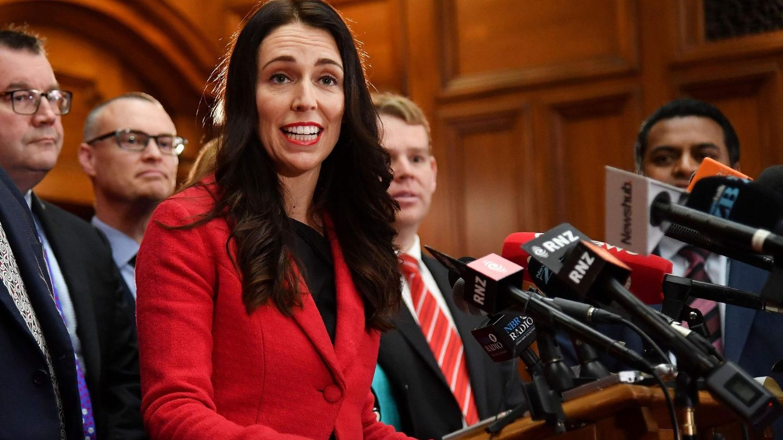 Jacinda Ardern ist 37, Labour-Spitzenkandidatin für das Amt des Regierungschefs in Neuseeland und kinderlos