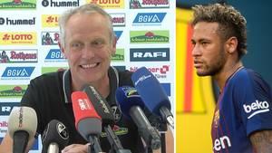 Christian Streich: Freiburg-Trainer über Neymars Transfer-Wahnsinn