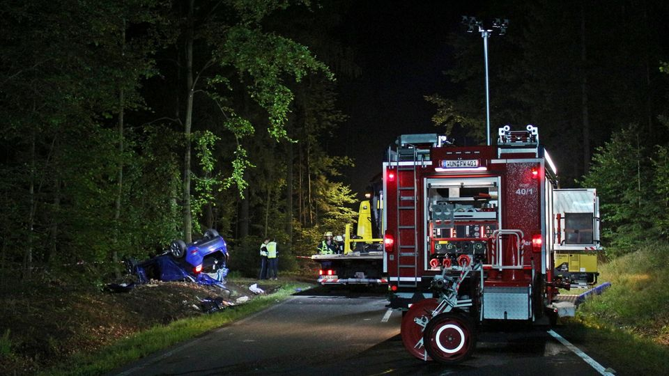Autounfall fichtelberg