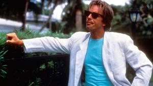 "Schauspieler Don Johnson in der US-Serie ""Miami Vice"""