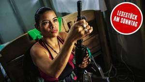 """FARC-Guerilla: """"Ohne Waffe fühle ich mich nackt"""""""
