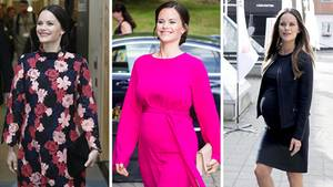 Strahlend und stilsicher erlebt Prinzessin Sofia von Schweden ihre Schwangerschaft