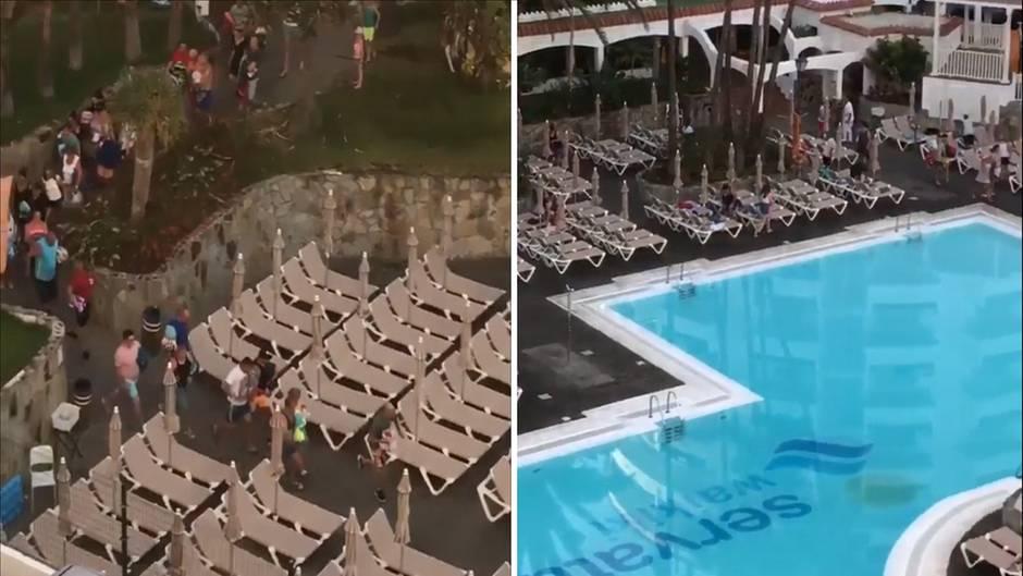 Angriff der Liegen-Spießer: Die peinliche Jagd nach dem besten Platz am Pool - mit einer Überraschung