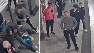 Die Polizei Berlin schätzt die vier Angreifer auf 16 bis 20 Jahre