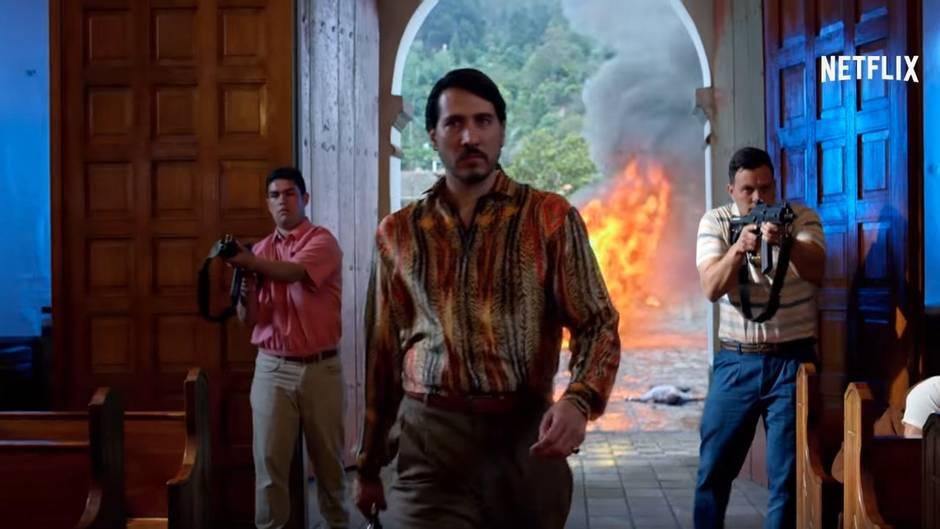 """Trailer zur dritten """"Narcos""""-Staffel: Escobars Erben - die blutige Rückkehr der gnadenlosen Drogenbosse"""