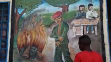 Ein Kindersoldat im Kongo