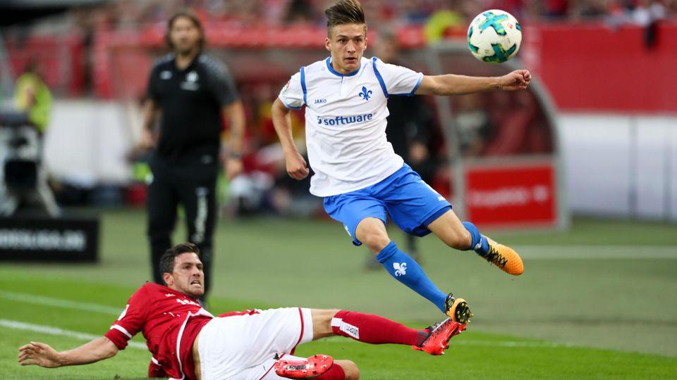 Der SV Darmstadt und der 1. FC Kaiserslautern trennten sich im späten Freitagabendspiel der zweiten Bundesliga mit 1:1