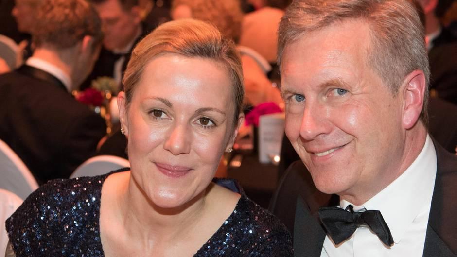 Bettina und Christian Wulff im vergangenen Februar auf einem Ball