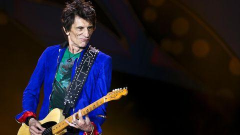 """Der Gitarrist der Rolling Stones, Ron Wood, sagt, er habe aber schon immer einen """"sehr starken Schutzengel"""" gehabt"""