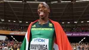 Luvo Manyonga: Erst der tiefe Fall, dann die märchenhafte Rückkehr