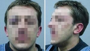 Die Polizei in Sachsen veröffentlichte nach der Schießerei diese Fotos des Gesuchten