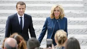Franzosen unterzeichnen Petition gegen Status von Brigitte Macron
