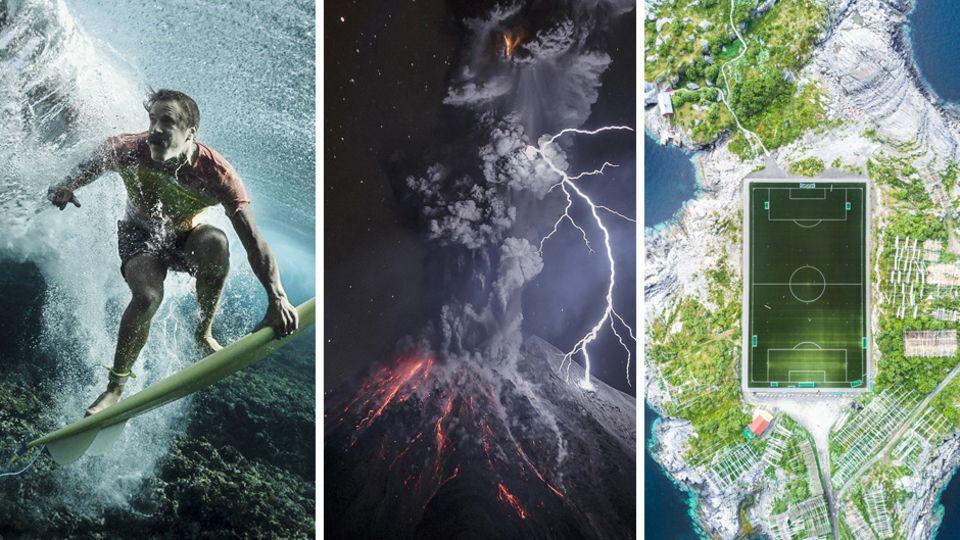 Fotowettbewerb National Geographic 2017: Gewaltige Explosionen: Das sind die besten Bilder des Jahres