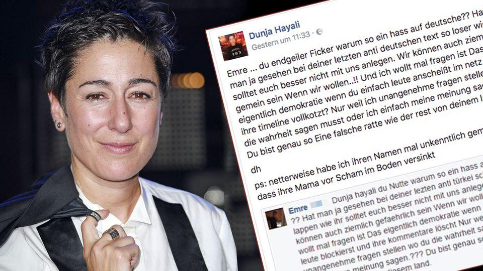 Die ZDF-Moderatorin Dunja Hayali