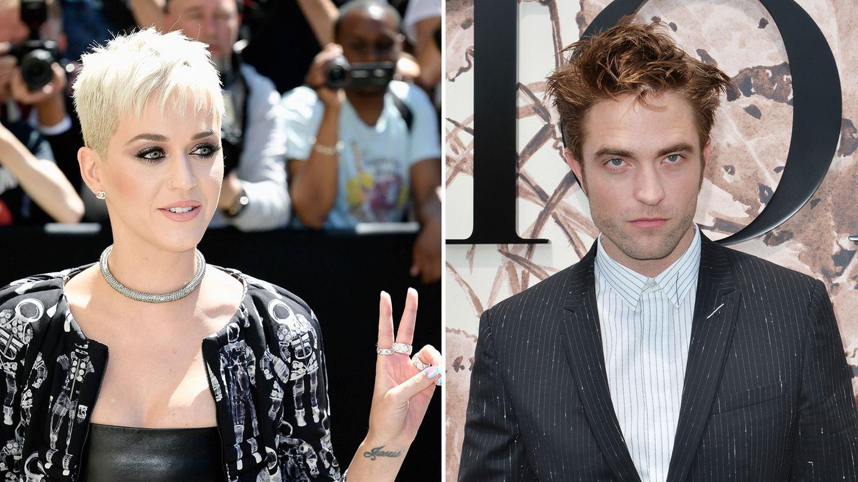 Die Sängerin Katy Perry und der Schauspieler Robert Pattinson
