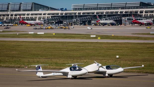 Brennstoffzellenflugzeug HY4